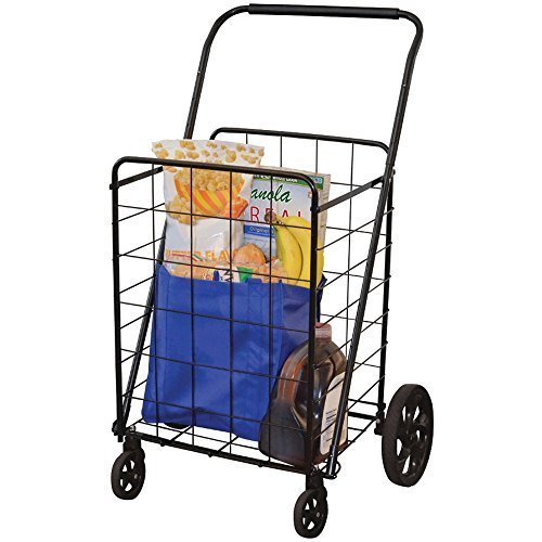 HELPING HAND FQ39720 4-Wheel Super-Deluxe Swiveler Cart Home, garden & ()