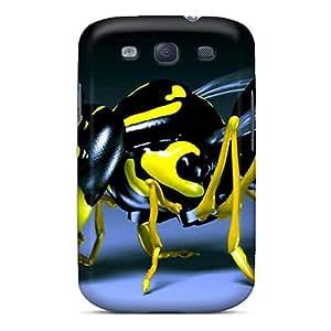 New Design Shatterproof LFe5395FWBp Cases For Galaxy S3 (avispa 3d)