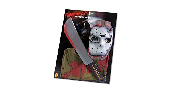 Amazon.com: Rubie s Costume Friday the 13th Jason Voorhees ...