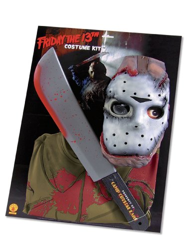 [Rubie's Costume Friday The 13Th Jason Voorhees Kit, Multicolored, One Size] (Jason Scary Costume)