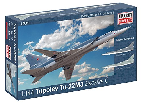 Minicraft Model Kits - Minicraft Tu-22M3 Tupolev Backfire Model Building Kit