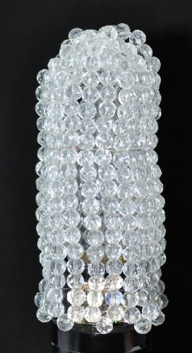 Urbanest Beaded Light Bulb Cover, Clear (Mini Shade Beaded)