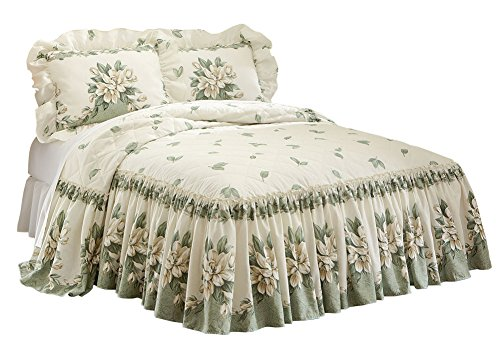 Magnolia Lightweight Bedspread Machine Washable