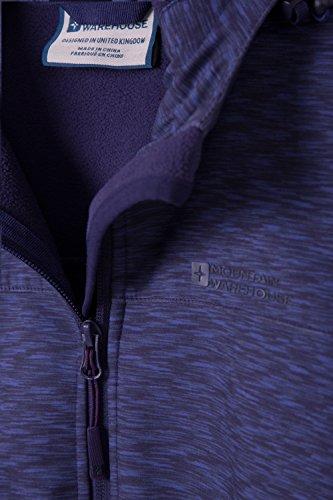 Mountain All'acqua Scuro Exodus Donna Da Resistente Softshell Traspirante E Giacca Tessuto Viola Stampata Warehouse Al In Vento FqwnFxra