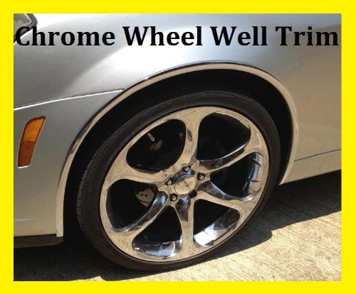 Cadillac Chrome Wheel Well Fender Trim Molding All Models D.I.Y. (Cadillac Escalade Fender Trim)