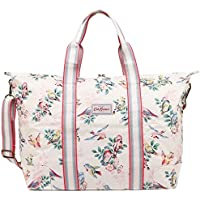 Cath Kidston - Foldaway Overnight Travel Gym Duffel Shoulder Bag - British Designer -Spring Birds
