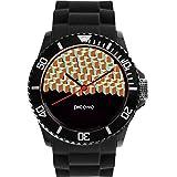 PICONO Block Playground Resistant Analog Quartz Watch - BA-BP-03