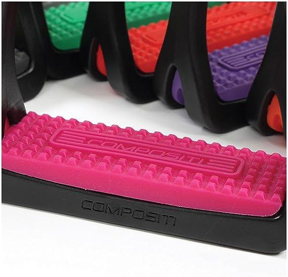 Compositi Premium Profile Replacement Colorful English Stirrup Treads