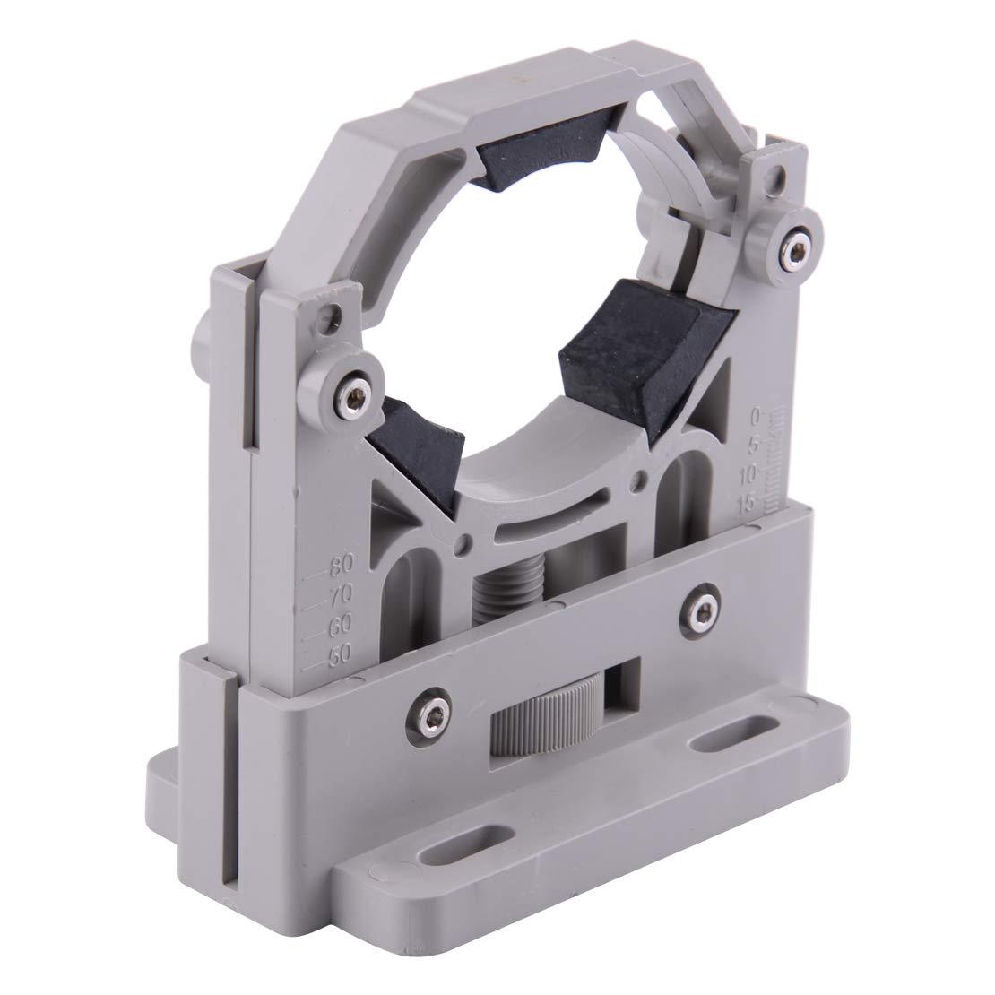 Verstellbare Halterungshalterung passend fü r 50-80mm CO2 Laser-Rohrgravurmaschine ABS Kunststoff & Gummi & Metall eastar