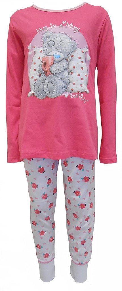 63a898630 Me to You Tatty Teddy Hug in a Mug Girl s Pyjamas 5-6 Years  Amazon ...