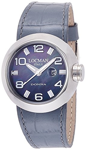LOCMAN watch change one Donna quartz date belt 3 with this ladies 0421 042100MKNWH0PSA-W-WS Ladies