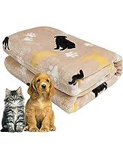 softan Hondendeken, Pluizige Huisdieren Deken voor Kleine Middelgrote Grote Honden, Wasbare Puppy Deken, Zachte en Warme Flanellen Fleece Kattendeken