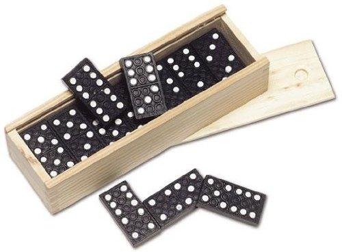 Globatek Domino Set In Wood Box