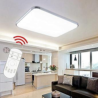 VINGO® 48W LED Deckenleuchte Deckenlampe Badlampe Leuchte mit ...
