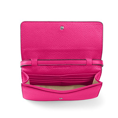 Mini Leatherology Katy Crossbody Handbag Fuchsia SxRanZ6Bx