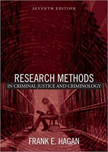 Research Methods In Criminal Justice And Criminology 7th Edition Frank E Hagan 9780205447398 Amazon Books