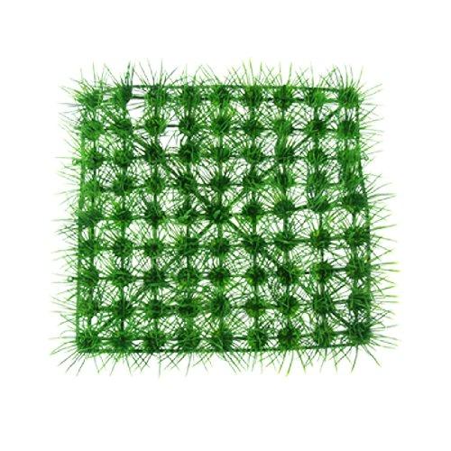 (Jardin Aquarium Fish Tank Grass Pine Needle Artificial Lawn Room Décor, Green)