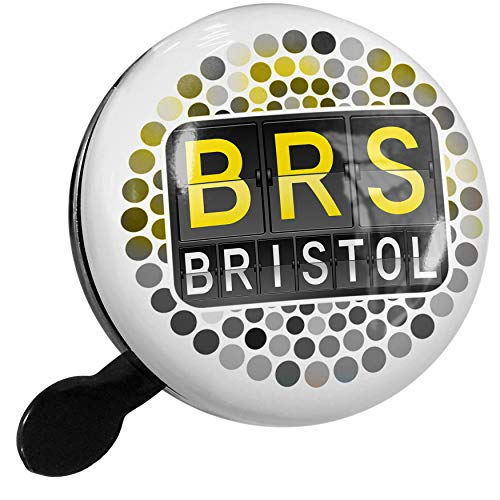 (NEONBLOND Bike Bell BRS Airport Code for Bristol Scooter or Bicycle Horn )