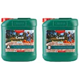 CANNA CA1280 5 L Coco Part A & B-Veg & Bloom Nutrient-Developed for Run to Waste Growth, Green