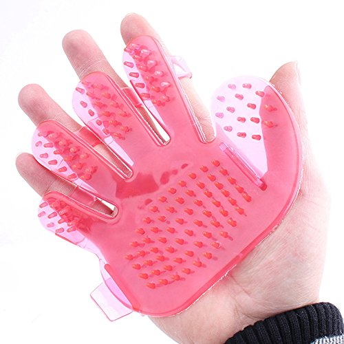 Uniquorn Pet Dog Cat Shower Bath Massage Cozy Brush Comb Hand Shaped Glove Comb Random - In Jacksonville Stores Nc Clothing