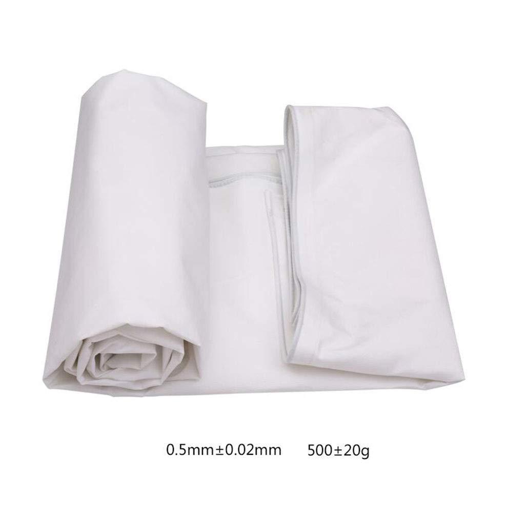BÂches De Plein Air Camping Couverture Polyester Coupe-Vent Imperméable Camping De Plein Air Voyage TIDLT (Couleur   Blanc, Taille   7x5m) Blanc 7x5m