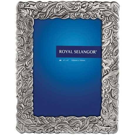 Royal Selangor Hand Finished Isthmus Home 2 Collection Pewter Photo Frame (4R) by Royal Selangor