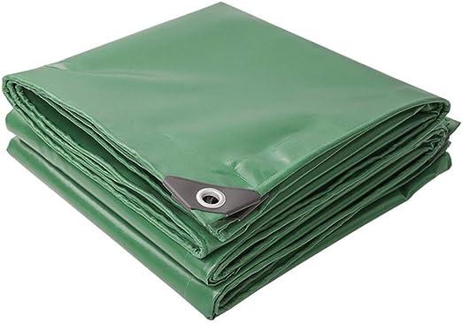 Lona impermeable - Paño para sombra - Lona gruesa para exteriores, Lona recubierta de plástico Paño recubierto de plástico - Sombrilla Impermeable Protector solar Lona para toldo - Espesor 0.42 mm - T: Amazon.es: Jardín