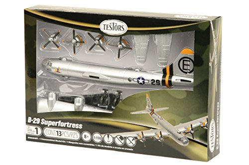 Testors B-29 Superfortress Aircraft Model Kit (1:130 Scale)
