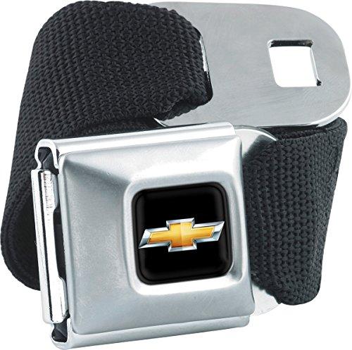 Cars Logo Seatbelt belts - Buckle Down seat buckle belts Cars Logo Variations (Chevy Seatbelt Belts) - Buckle Down Belt Buckles