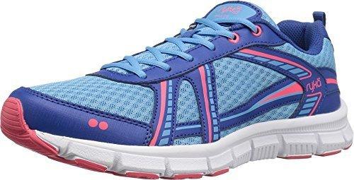 bluee royal bluee coral pink Ryka Womens Hailee Cross Trainer