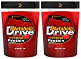 Metabolic Drive® Protein, Whey Isolate, Micellar Casein, Vanilla 2 Pack (4 lb)