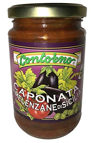 Contorno Caponata Di Melenzene Sicilian Eggplant - 10.5 Oz