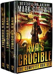 Post-Apocalyptic Box Set: Ava's Crucible: A Saga of America's Coming C