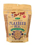 Bob's Red Mill Resealable Organic Brown Flaxseed Meal, 16 Oz (4 Pack)