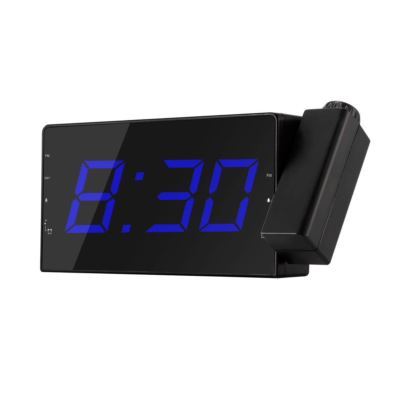Amazon.com: Houkiper - Reloj despertador digital para ...