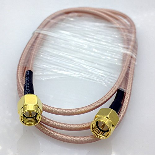 Blue Stones 1 meter RG316 SMA RF Coaxial Cable SMA male to SMA Male cable SMA Male Connector Switch by Blue Stones (Image #3)