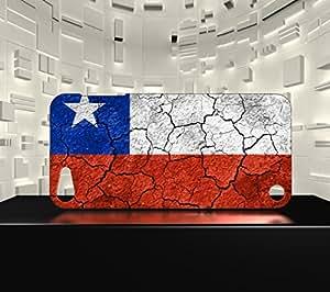 Funda Carcasa para iPod Touch 5 Bandera CHILE 03