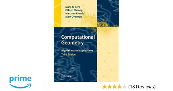 DE BERG COMPUTATIONAL GEOMETRY DOWNLOAD