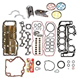 Domestic Gaskets Engine Rering Kit FSBRR8-30400EVE 99-03 Dodge Dakota Durango Jeep 4.7 SOHC Full Gasket Set, 0.25mm / 0.010'' Oversize Main Rod Bearings, 0.50mm / 0.020'' Oversize Piston Rings