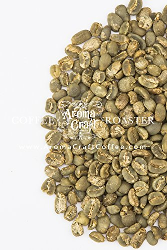 Aroma Craft Coffee: Specialty Sumatra Mandheling Unroasted Green Coffee Beans (5 LB)