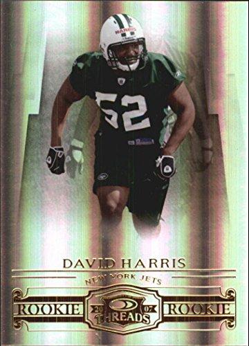 - 2007 Donruss Threads #205 David Harris RC /999