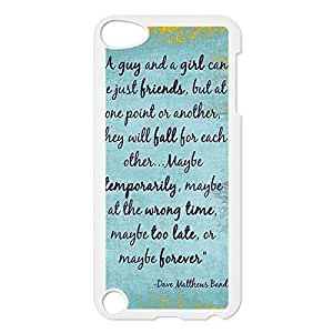 "Dave the Matthews Printed Environmental Custom and TPU Case Cover for iPhone 6 Plus 5.5"" -White031102 then"