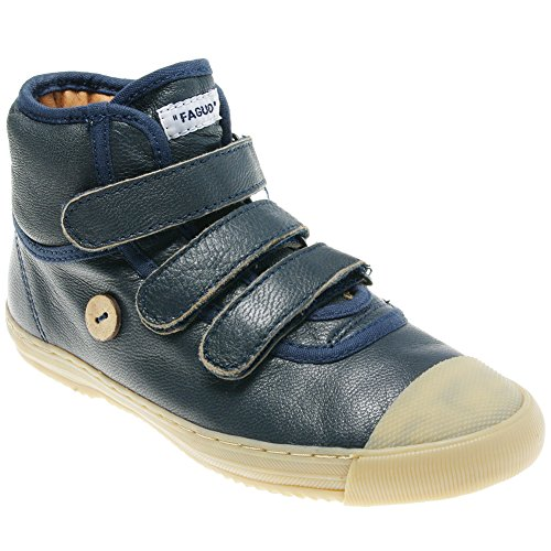 Faguo - Walnut Navy - Chaussure Velcro enfant