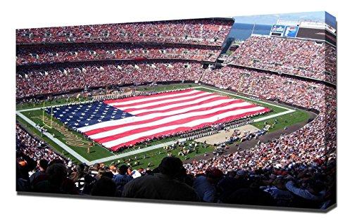 Lilarama USA Cleveland Browns Stadium 2 - Canvas Art Print - Wall Art - Canvas Wrap