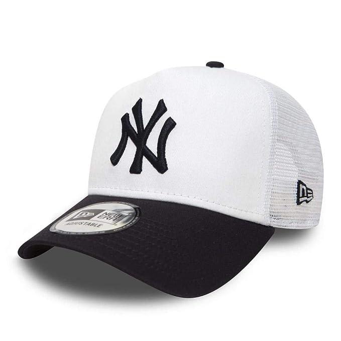 Cappellino New Era - Ajustable Mlb New York Yankees League Essntl Trucker  bianco blu formato  Regolabile  Amazon.it  Abbigliamento f1891f40f90c