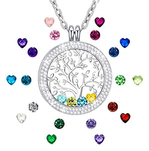 Chicnow Tree of Life Necklace Mom Gifts