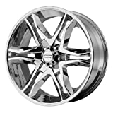 American Racing AR893 Mainline Chrome Machined Wheel (20x8.5''/6x139.7mm, +35mm offset)