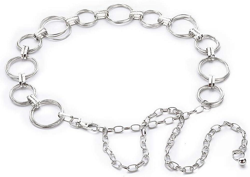 Hüftgürtel HalsKette Bauchkette Metall Gürtel Farbe Größe frei wählbar 70-150cm
