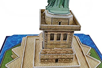 Freiheitsstatue 3D Puzzle Statue Modell Puzzles 3D America Neu #1384