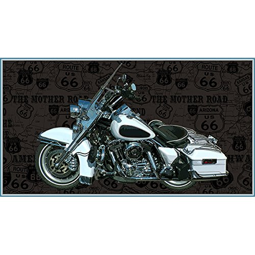 Blank Quilting Fabric (Blank Quilting Fabrics American Dream Motorcycles Panel 24 Inch)